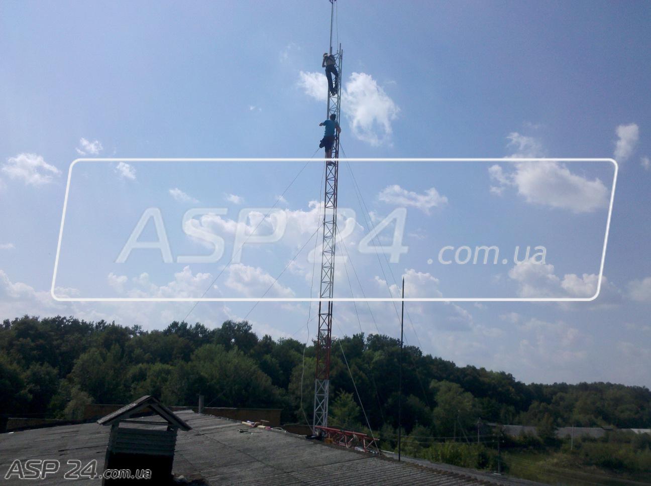 Мачты для антенн МТ 3, МТ 4,5, МТ 6, МТ 7.5, МТ 9