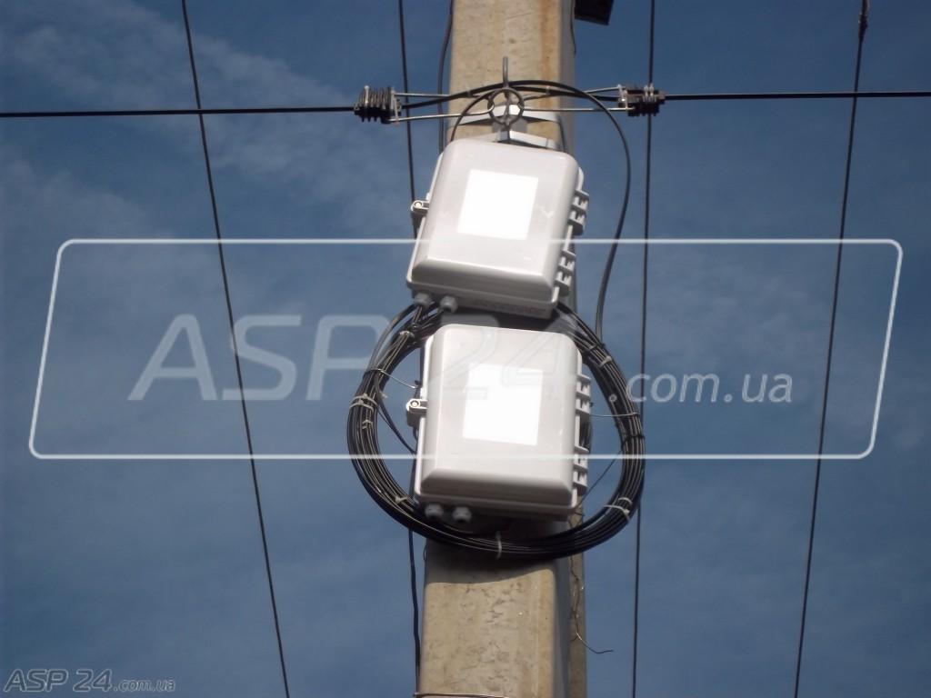 Рис. 1. Рабочее место интернет-провайдинг по технологии xPON