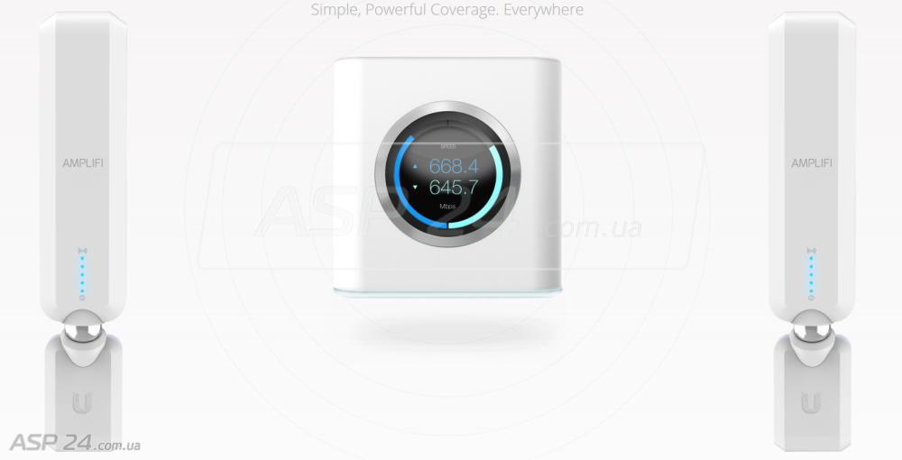 AmpliFi – Wi-Fi роутер и два «экстендера»
