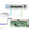 Что такое UniFi Switch US-8-150W, и как его настроить. Много скриншотов и полезной информации.