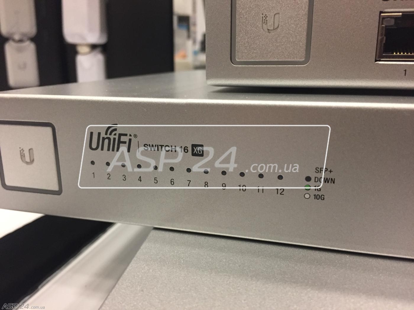 Рис. 22. UniFi Switch XG.
