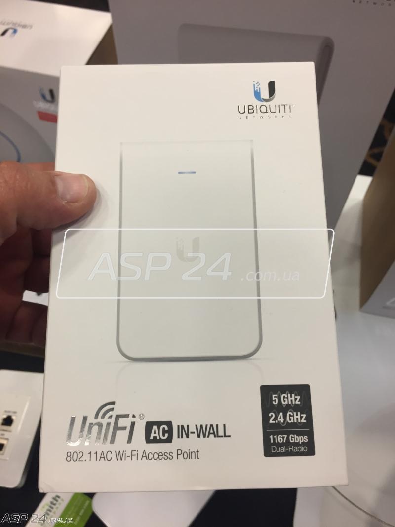 Рис. 3. Ubiquiti UniFi AC IN-Wall.