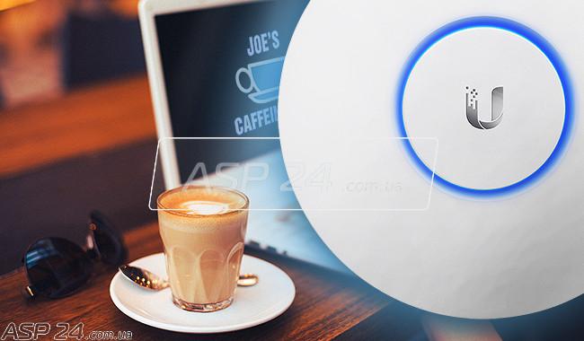 Рис. 1. Wi-Fi с кофе.