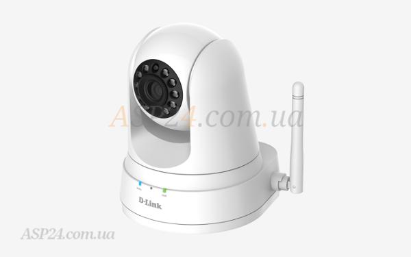 Внешний вид D-Link-pan-and-tilt-HD-camera