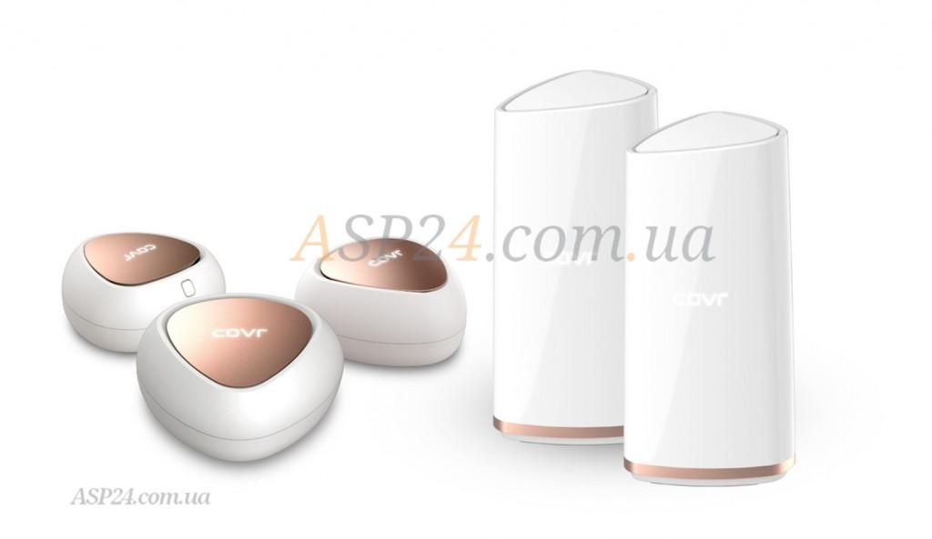 Вид двух- и трехдапазонных  WiFi-систем COVR