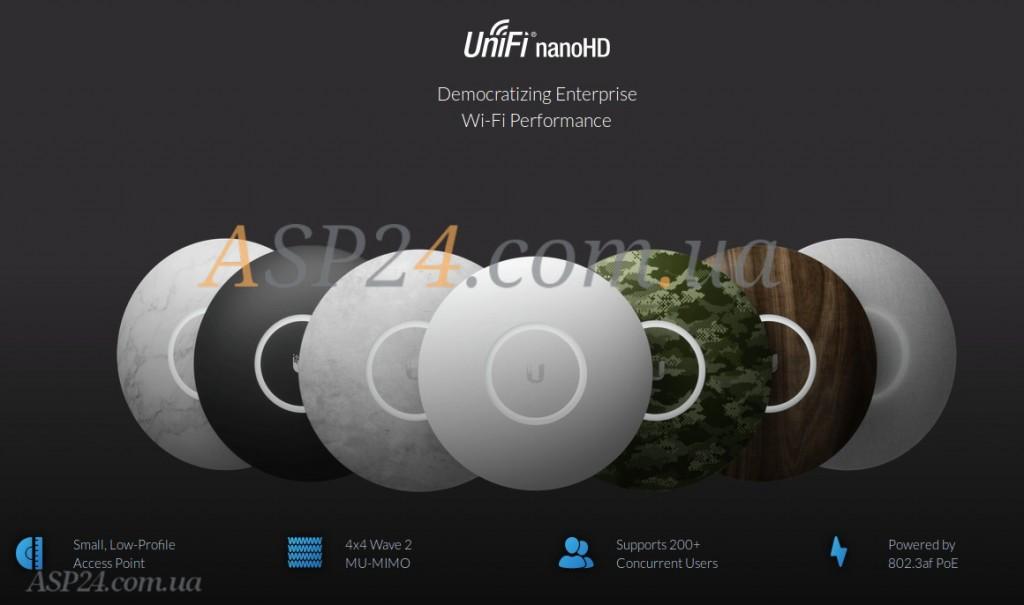 Внешний вид UniFi nanoHD
