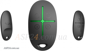 Брелок позволяет управлять системой сигнализации при помощи всего нескольких кнопок