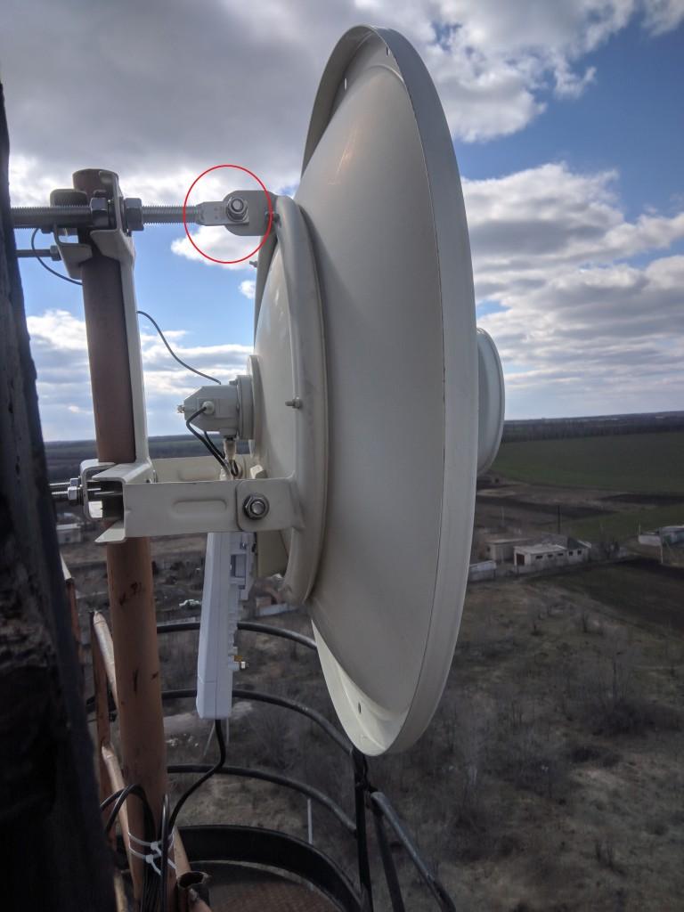 Монтаж wi-fi моста на ubnt