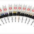 При монтаже оборудования специалисту достаточно будет лишь правильно совместить цвета защелок приемопередатчиков CWDM SFP с цветными индикаторами портов, что гарантирует простую и быструю настройку.