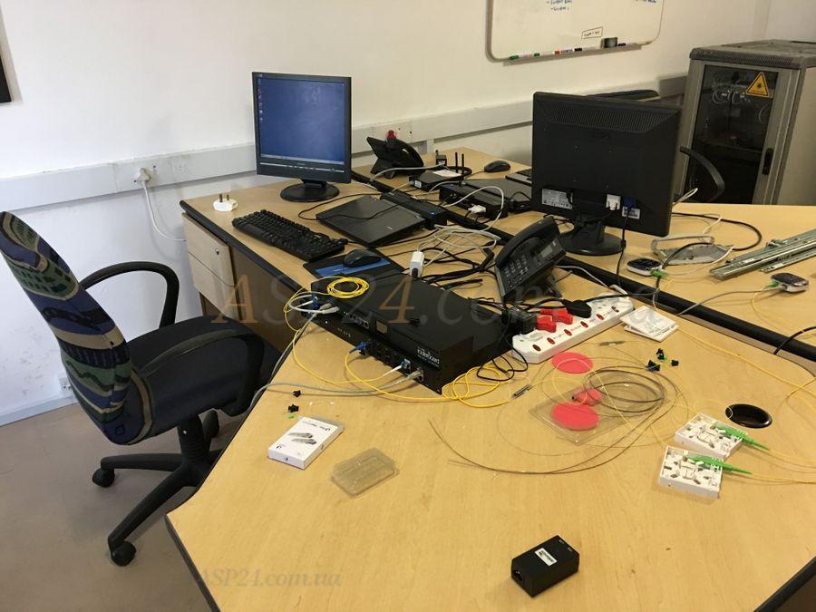 Тестування системи ONU в лабораторії