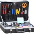 Розглянемо базовий інструмент монтажника для видалення оболонки та зачистки оптоволокна.