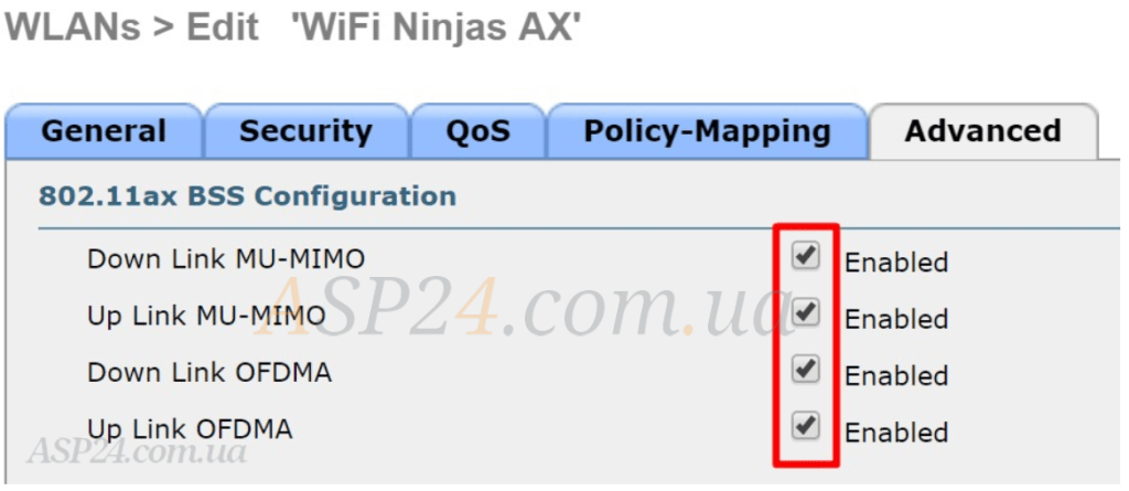 Cisco WLC 3504 on Cisco AireOS 8.9 code, 802.11ax configuration pt 2
