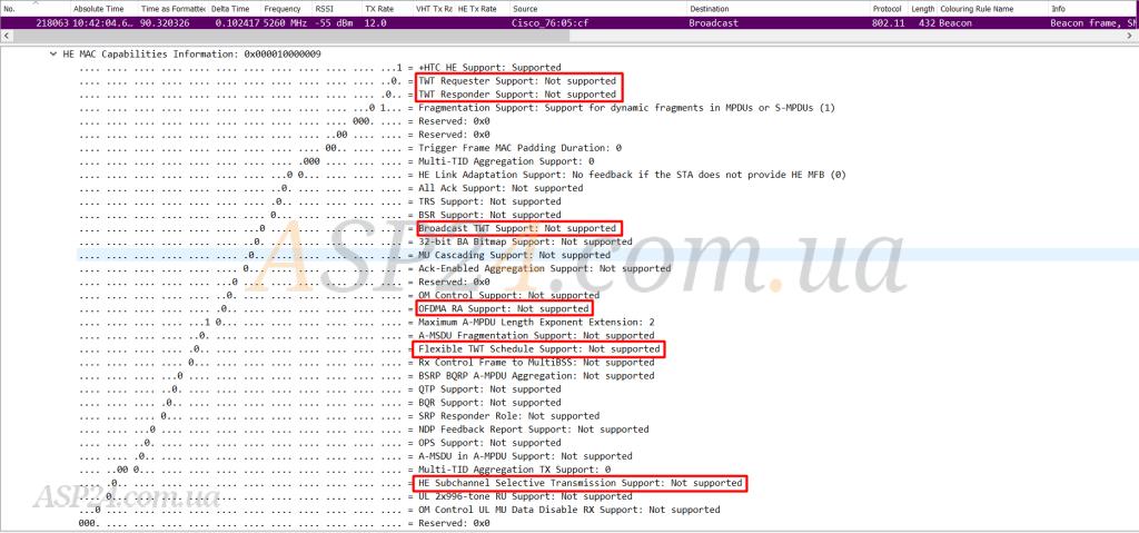 Cisco Cat 9115 AP AireOS 8.9 PCAP 1