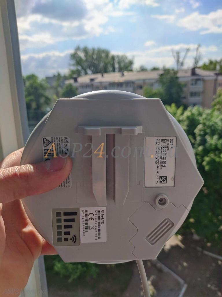 Тестовый замер сигнала SXT LTE Kit