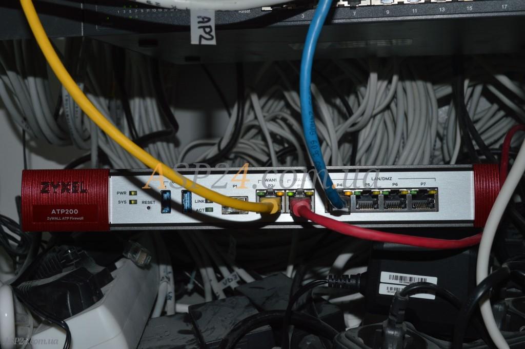 ATP200 в коммутационном шкафу
